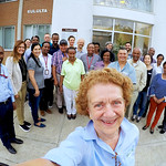 Group picture outside the Genebank