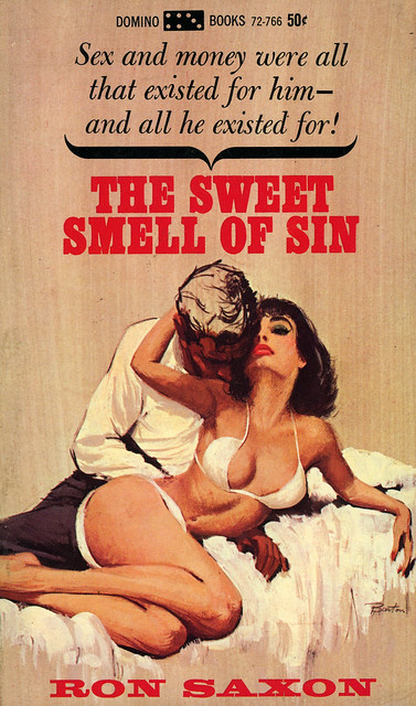 Domino Books 72-766 - Ron Saxon - The Sweet Smell of Sin