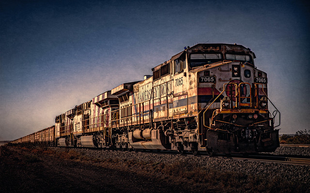 Pilbara iron ore train