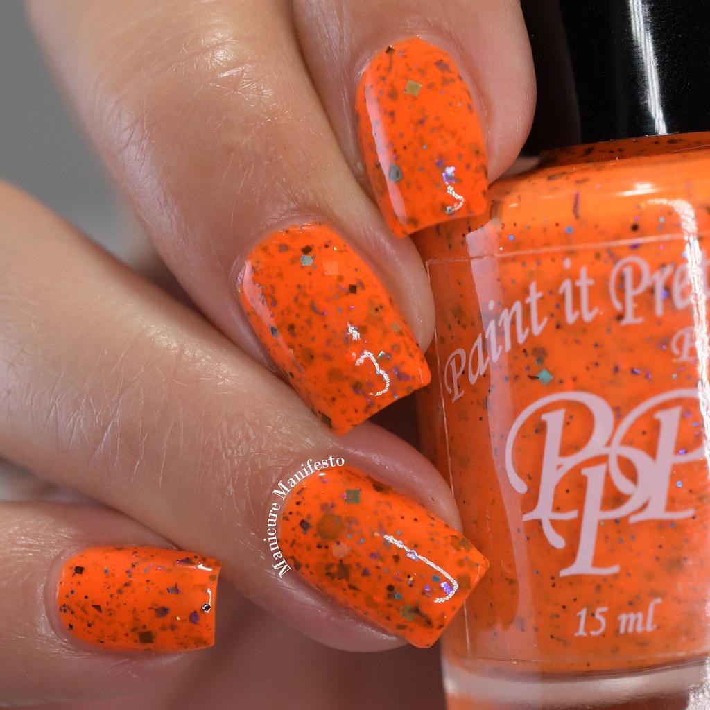 Paint It Pretty Polish Tiger Swirl