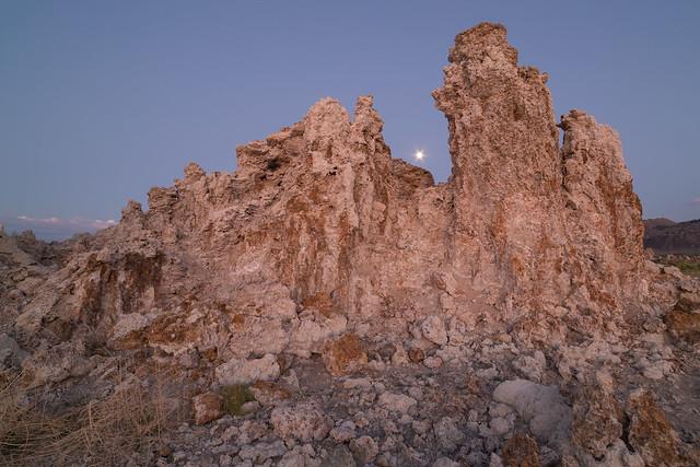 The Moon and Tufa