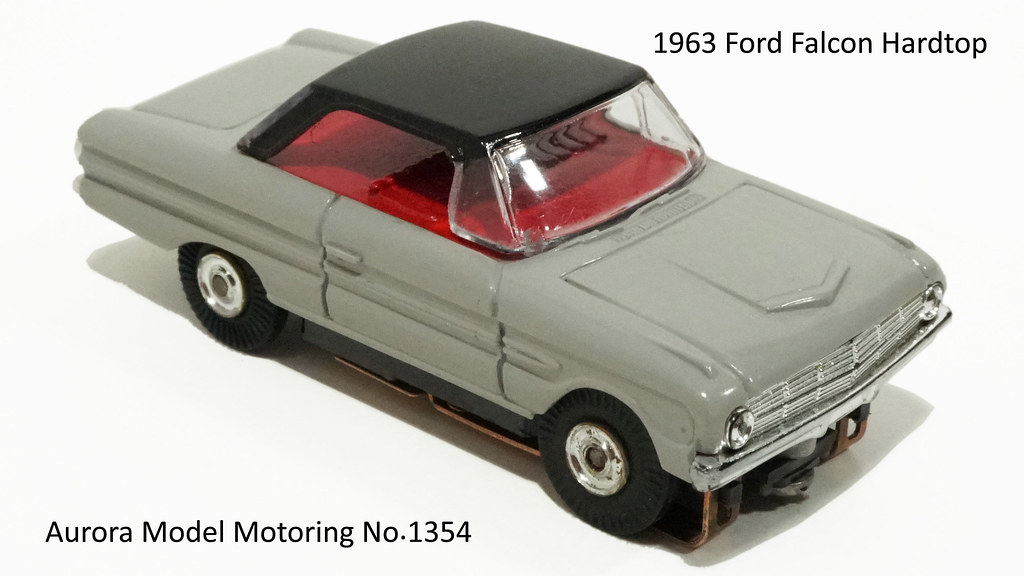 007 1963 Ford Falcon Hardtop ◦ Gray and Black