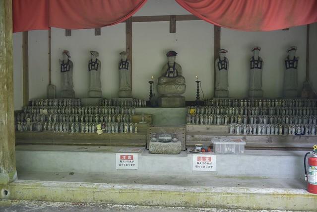 上日寺 観音堂から奥の院へ