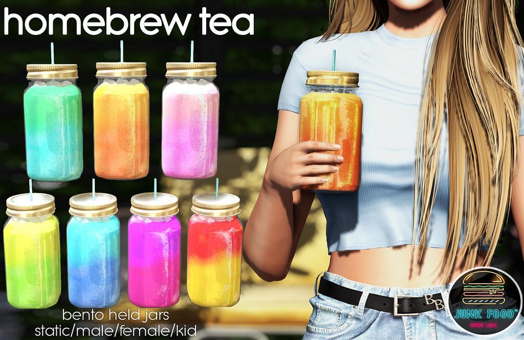 Junk Food – Homebrew Tea Ad