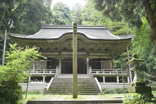氷見上日寺と朝日山公園 その2 観音堂から奥の院