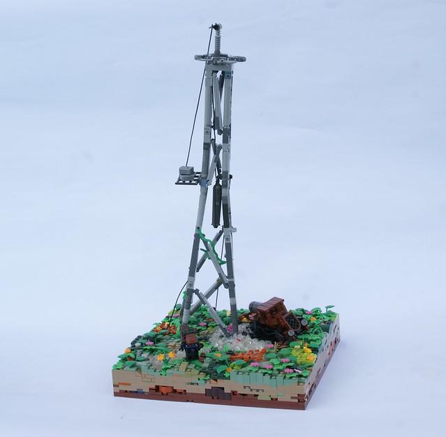 Post-Apoc Oil Rig