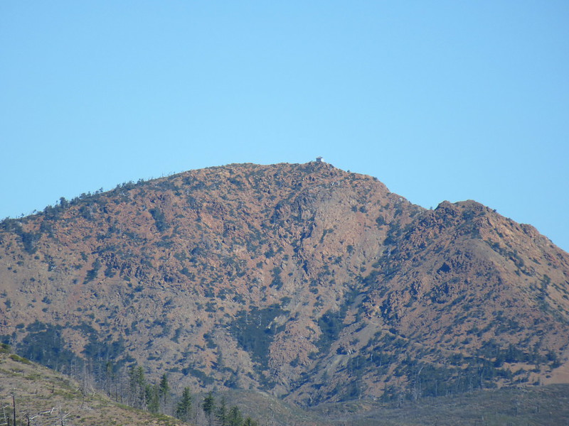 View of Pearsoll Peak from Kalmiopsis Rim Trailhead