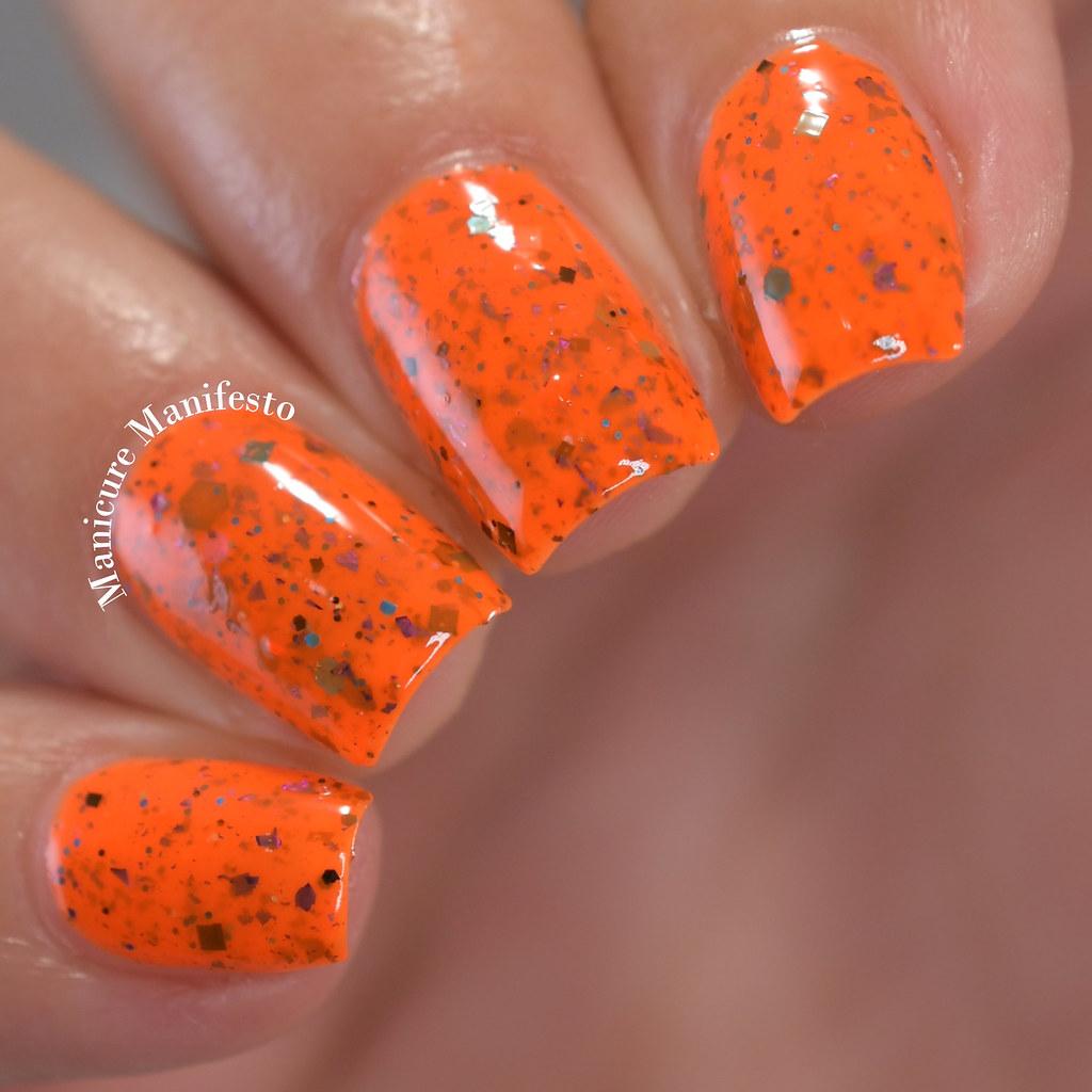 Paint It Pretty Polish Tiger Swirl review