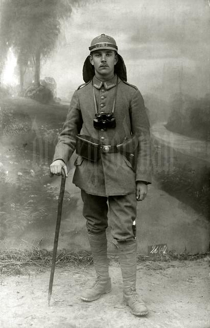 Unteroffizier aus Gebirgs-Maschinengewehr-Abteilung 246, September 1915 in Döberitz