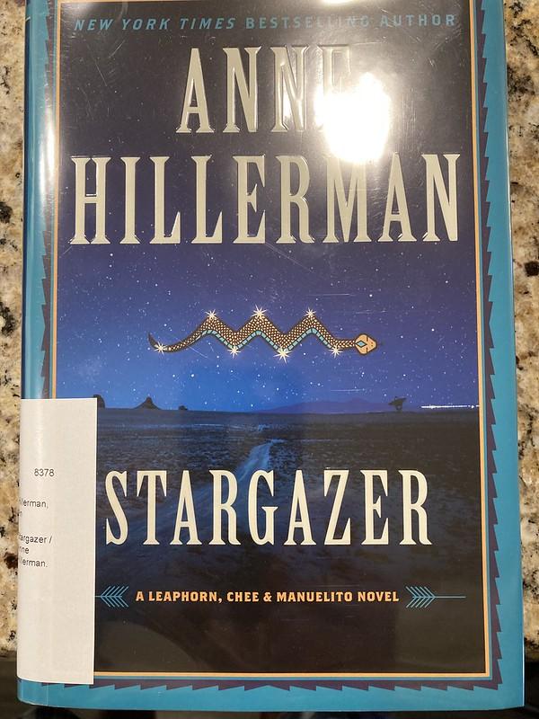 Anne Hillerman's Stargazer - Book Cover