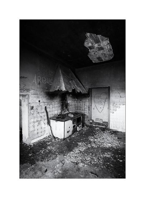 Neglected kitchen hood