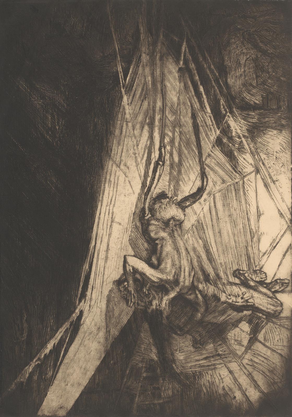 Marcel Roux - The Spider, 1910, Version 2