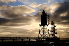 Leuchtturmdenkmal Obereversand / Nordsee / Germany
