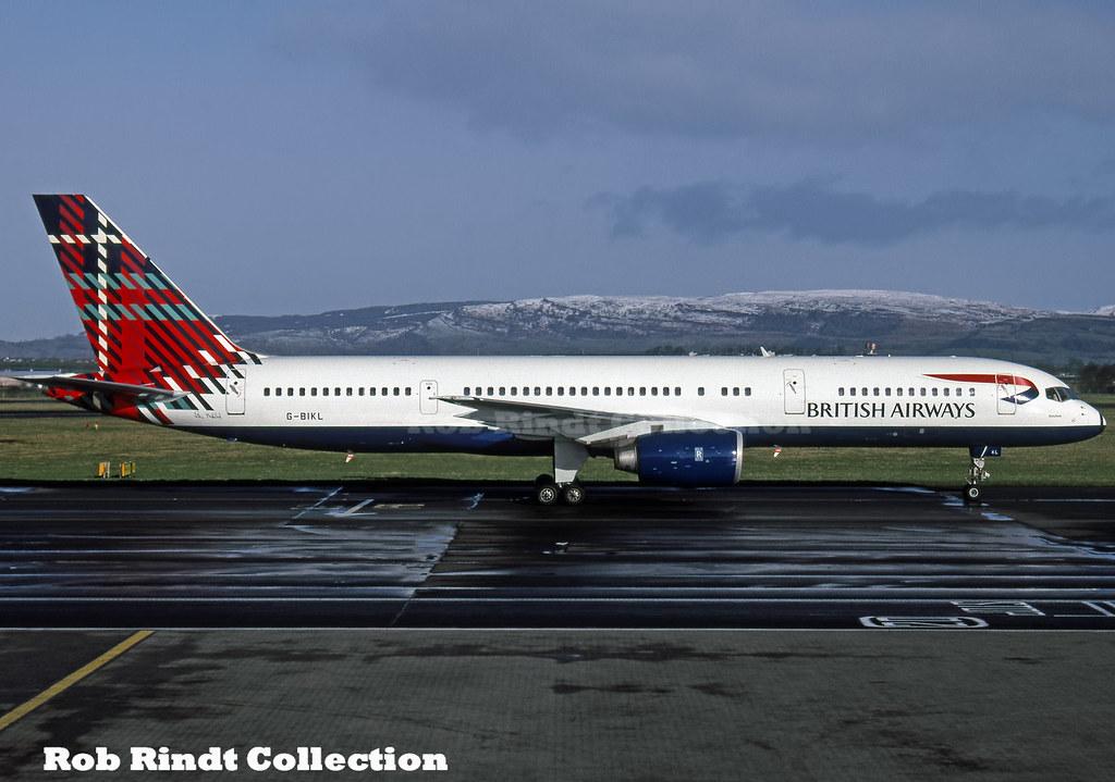 British Airways B757-236 G-BIKL