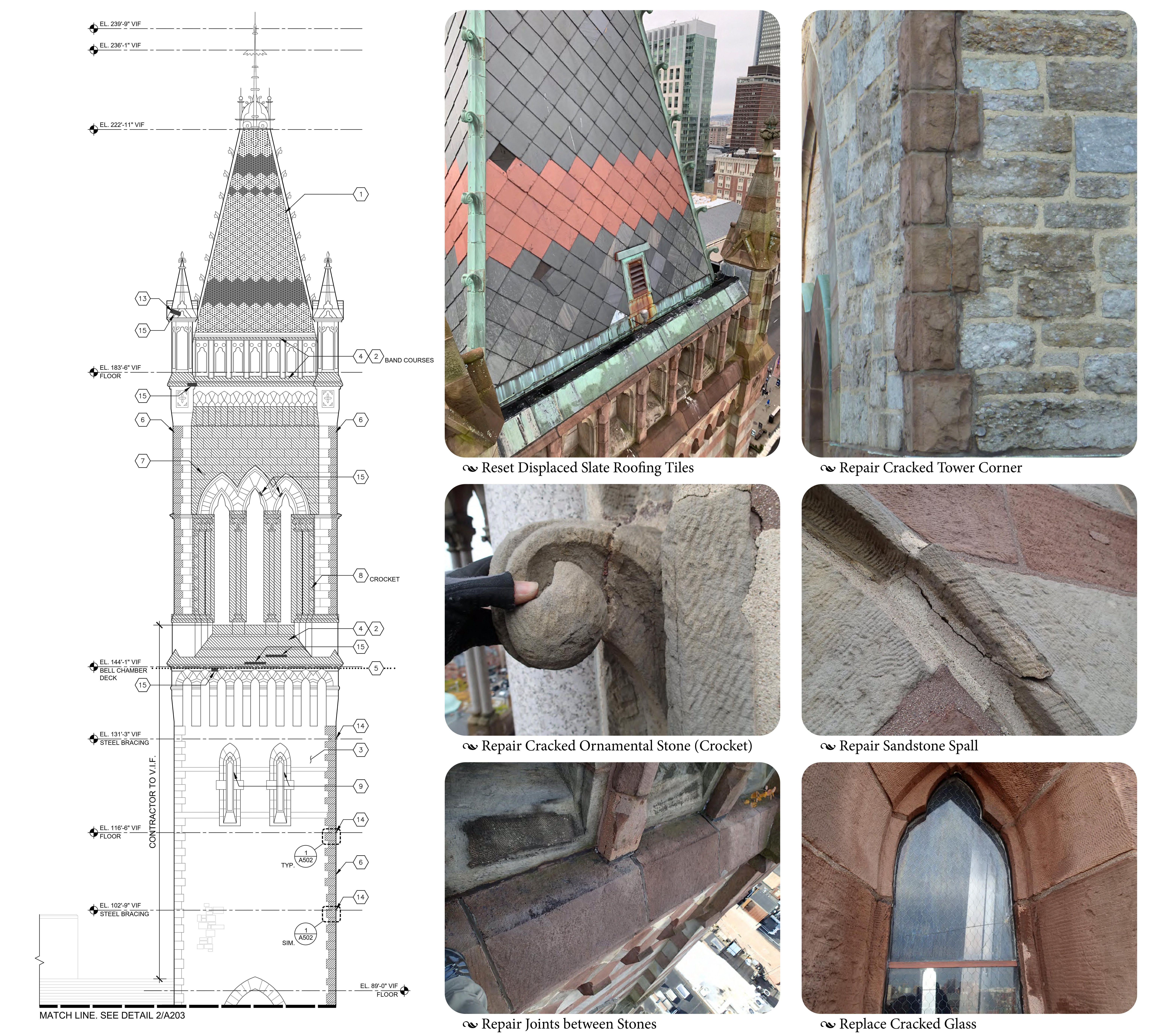 Tower Repairs 2021