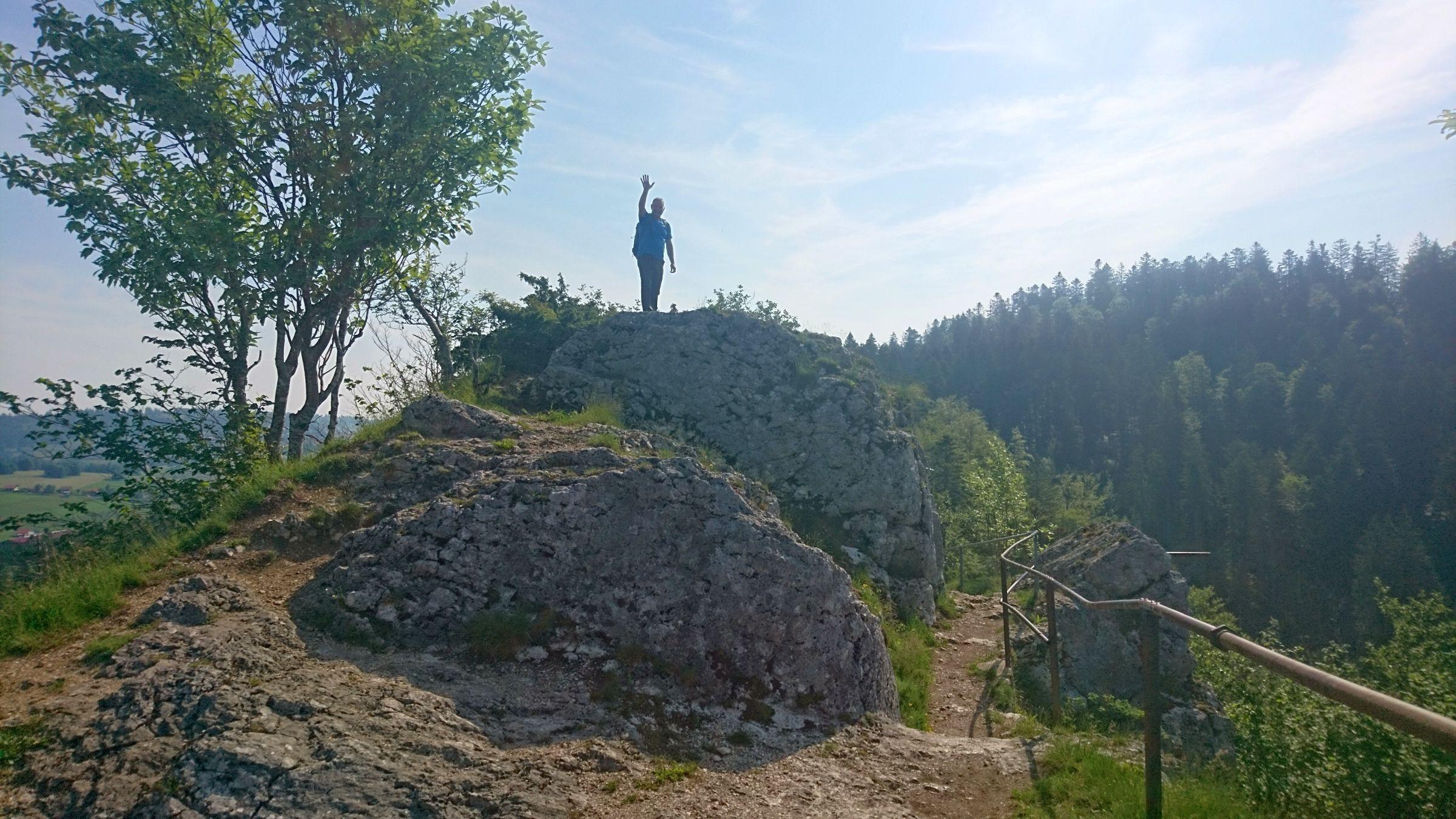 Wanderung Arête des Sommêtres 12.06.2021