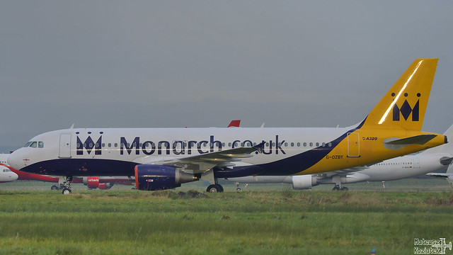 Monarch Airlines 🇬🇧️ Airbus A320-200 G-OZBY