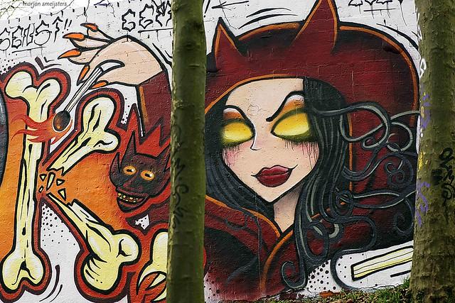 'Magical', Streetart Arnhem, The Netherlands