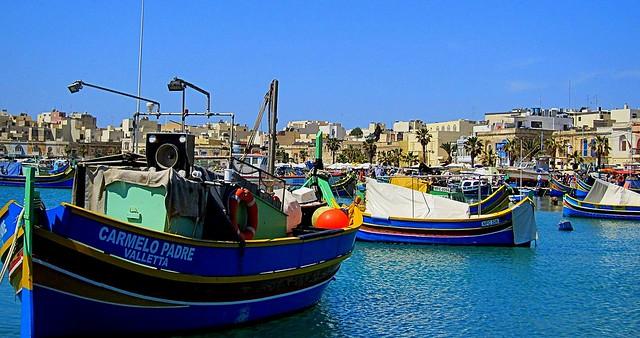 Marsaxlookk, Malta