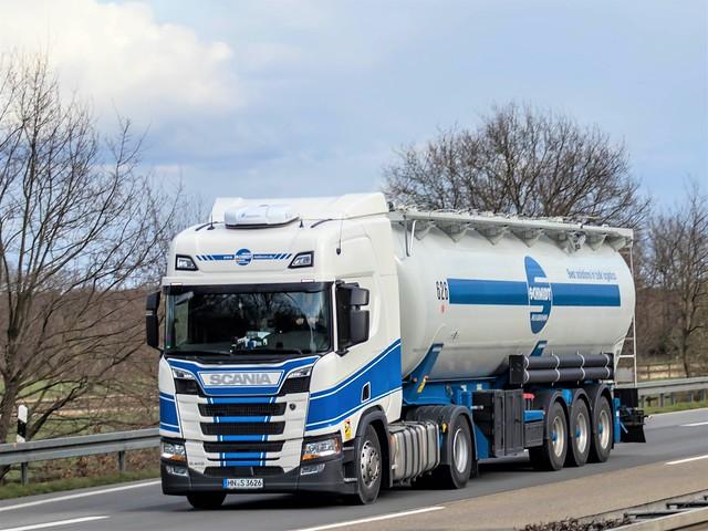 Scania R410 highline nextgen, from Schmidt fachspedition, Heilbronn, Germany.