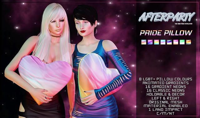 Afterparty - Pride Pillow [Pride Festival @ Afterparty]