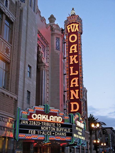 Fox Oakland at Dusk