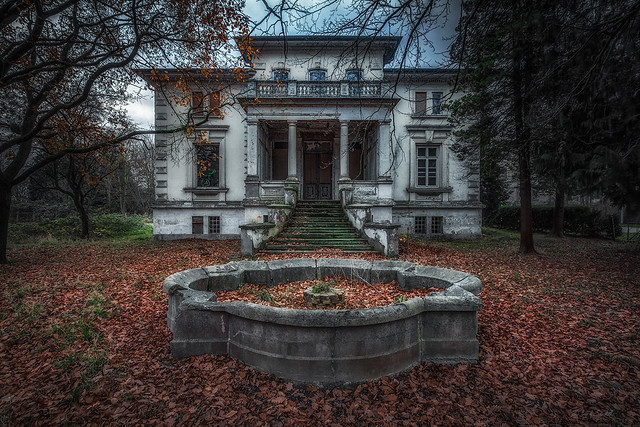 Villa böses Smiley - die Trockenperiode