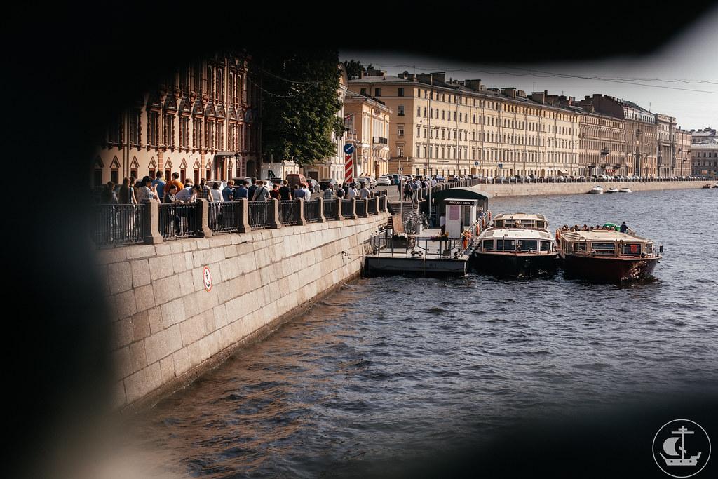 22 июня 2021. Экскурсия по рекам и каналам Санкт-Петербурга / 22 June 2021. Excursion on the waterways of St. Petersburg
