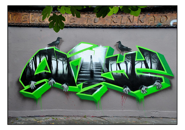 LONDON STREET ART by ONLY HMZ
