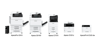 The latest printers and multifunction devices from Fujifilm Business Innovation cater for the entire range of use cases, from over-the-counter printers to high-performance multifunction devices.