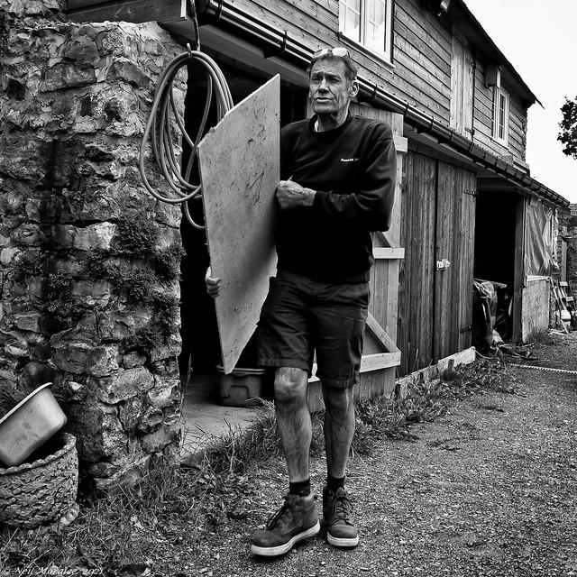 Men in sheds (6), George.