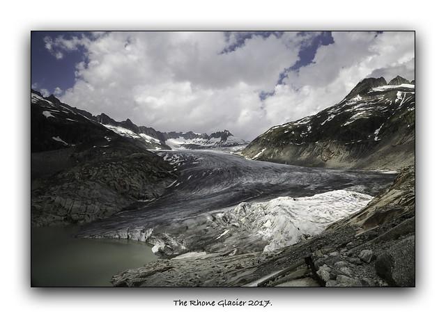 The Rhone Glacier.