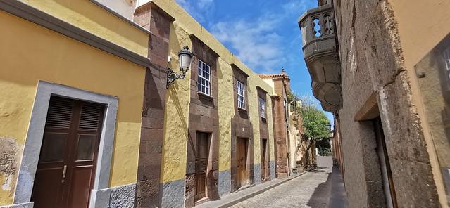 casas de calle San José Santa María de Guía Gran Canaria 01