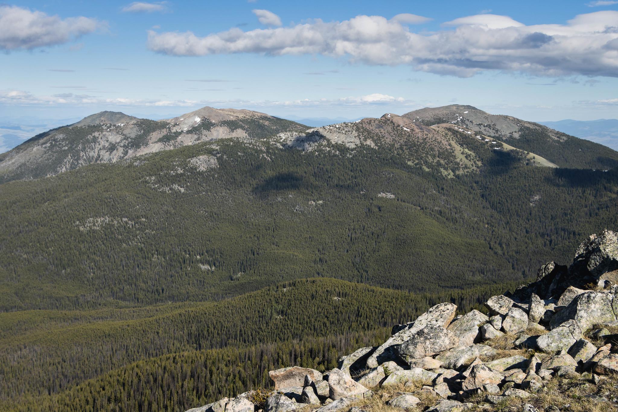 Hurley Peak, Joe Mills Mountain, and Chopaka Mountain