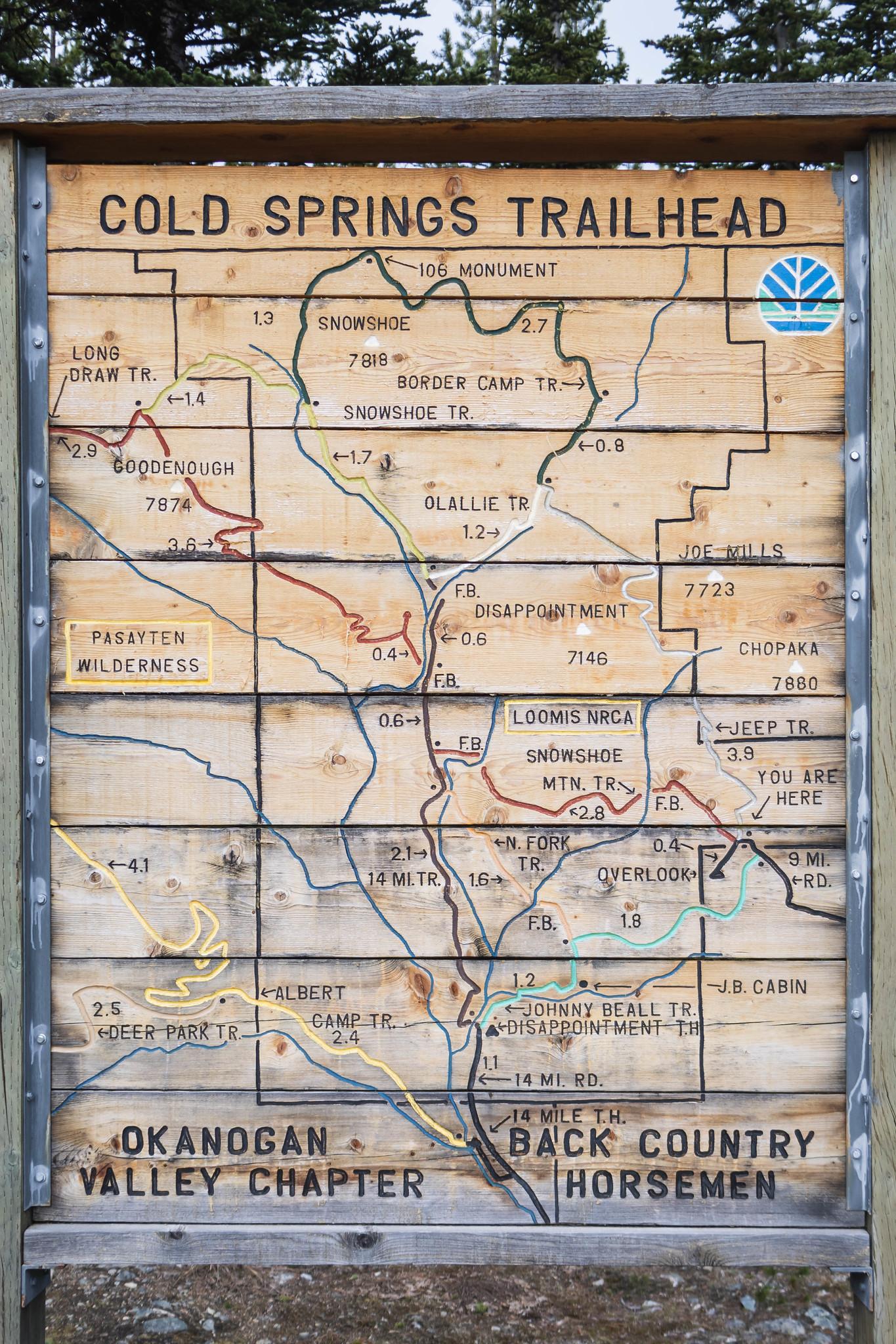 Gold Springs Trailhead