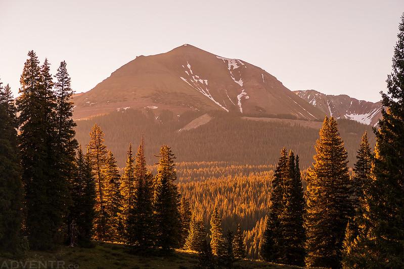 Sheep Mountain Morning