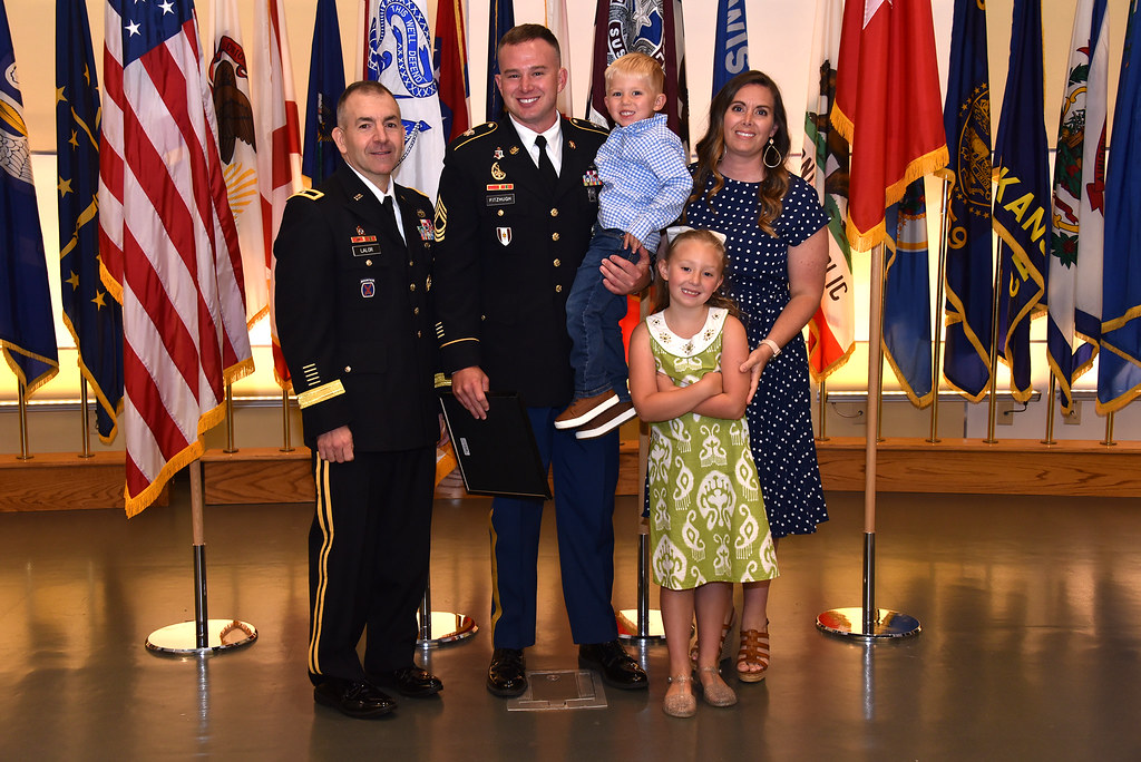 Fitzhugh and family with BG Lalor