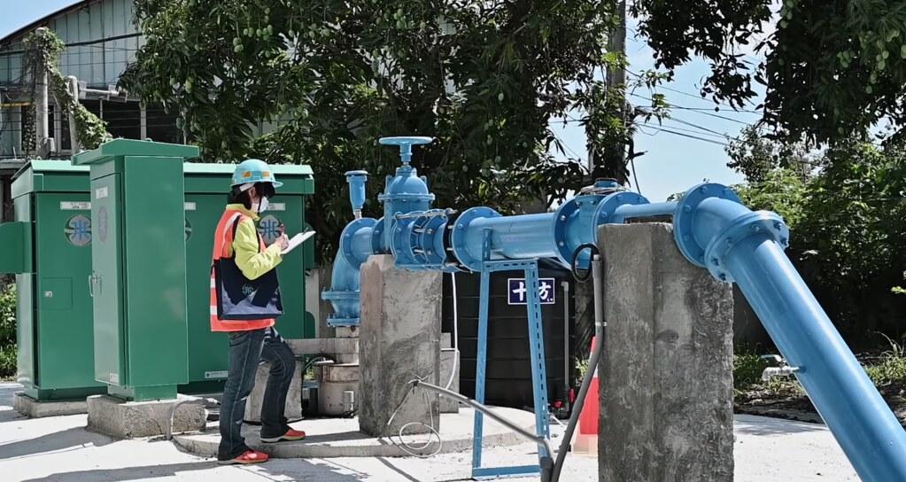 202106抗旱水井報導。地下水觀測井。截自台灣自來水公司影片