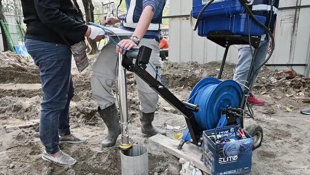 202106抗旱水井報導。水井抽水試驗。截自台灣自來水公司影片