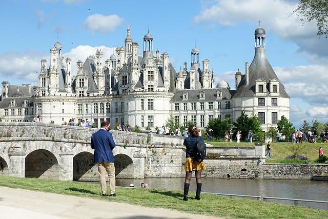 Chateau Chambord in Coronazeiten