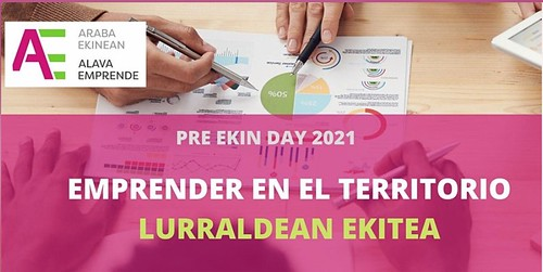 """Webinar Pre Ekin Day """"Emprender en el territorio"""""""