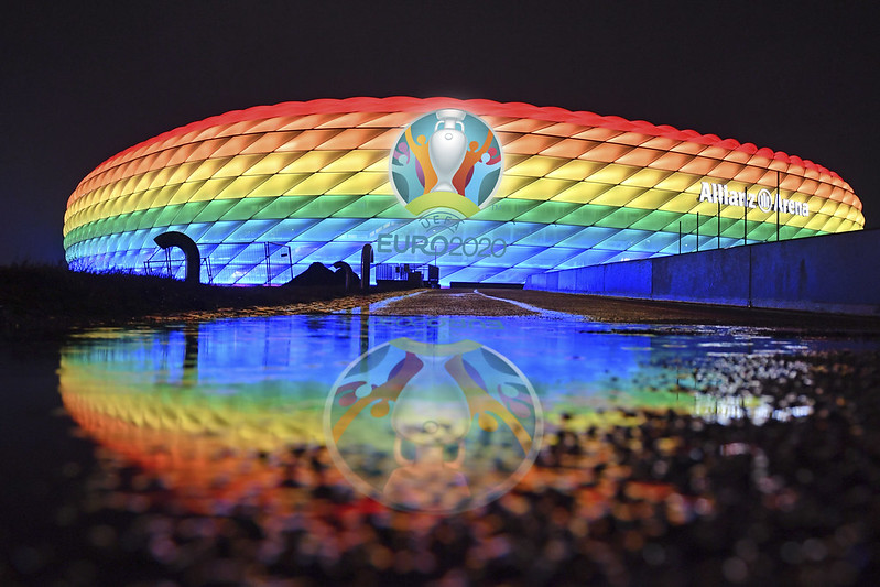 慕尼黑安聯競技場。(達志影像資料照)
