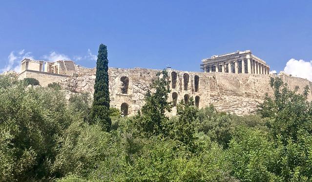 Le Parthénon sur l'Acropole, Athènes, Grèce.