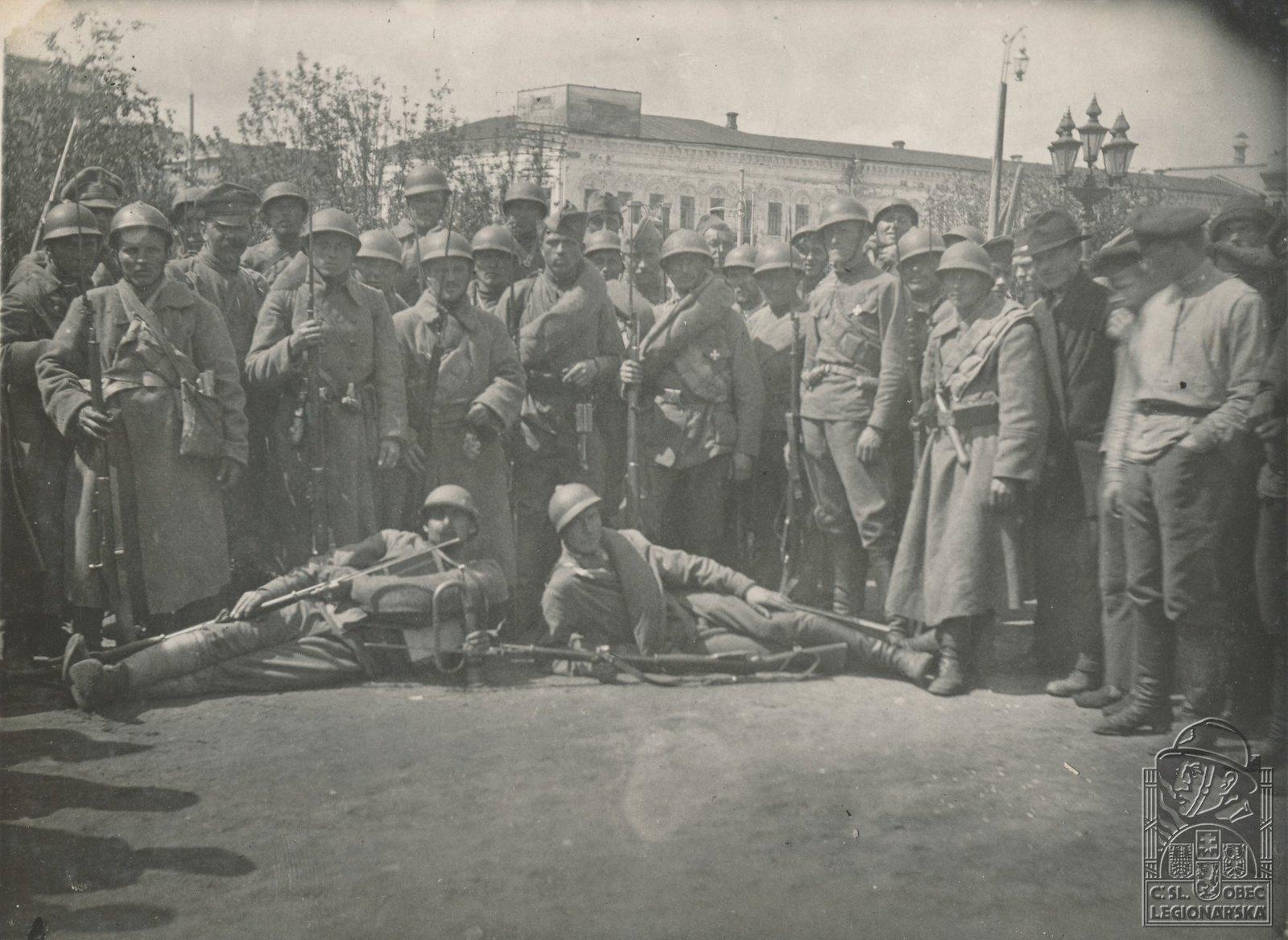 19. 1918. 3-я рота в Самаре