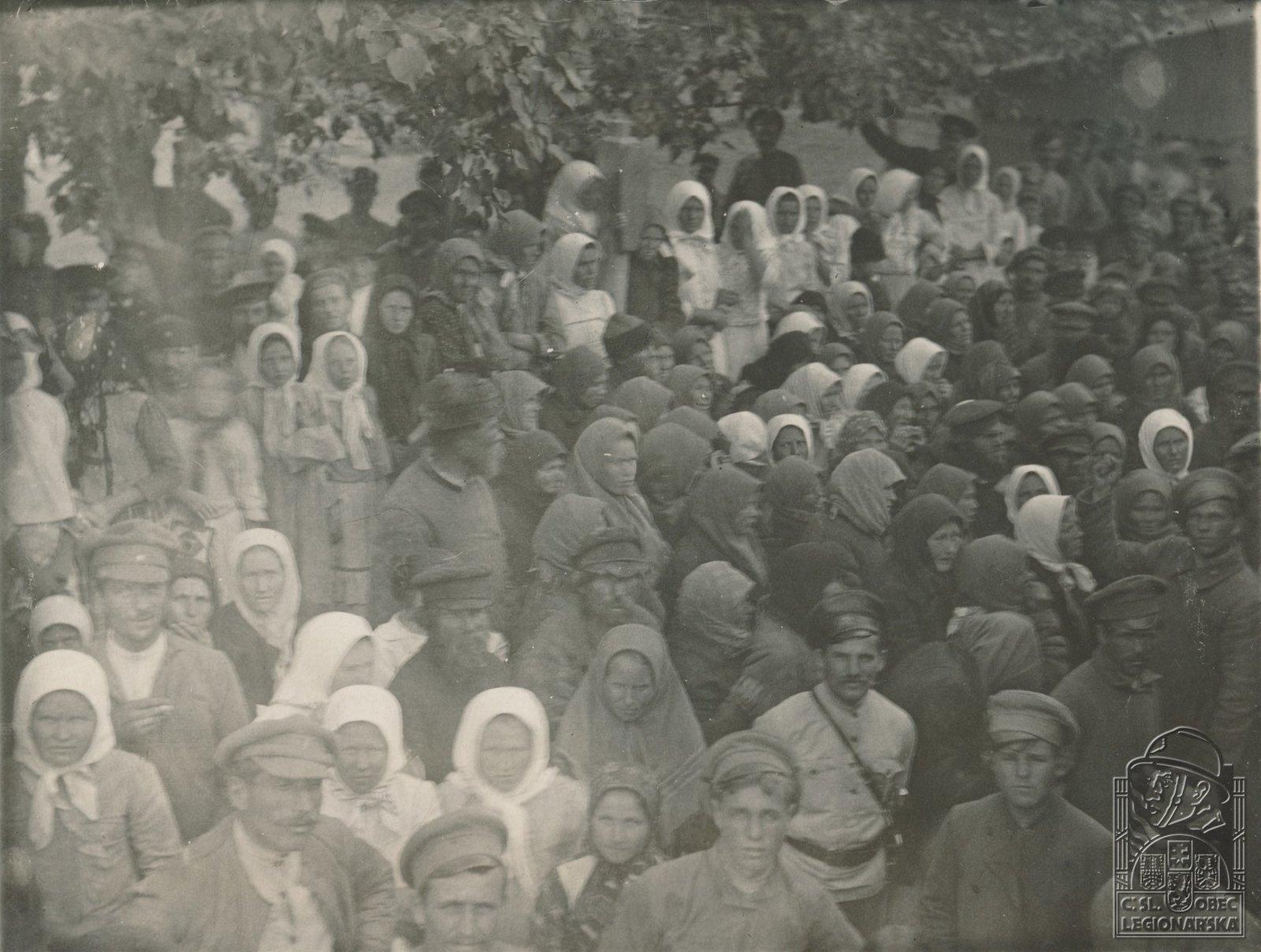 12. 1918. Беженцы на ул. Безводова