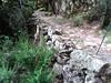 Arrivée du chemin du Carciara aval (HR21) à l'entrée de la brèche