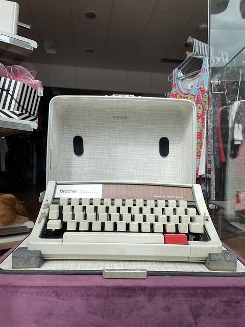 Charity shop typewriter
