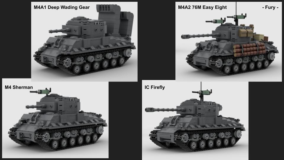 (Read Description) Part 1 of Sherman Variants MOC