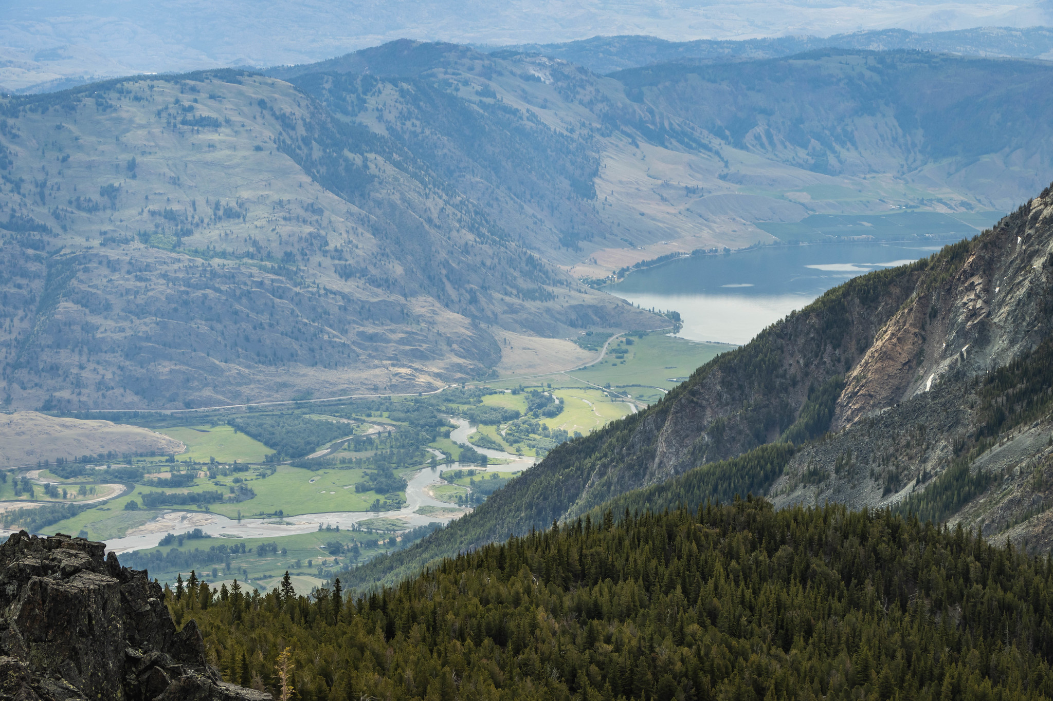 Similkameen River Valley with some Palmer Lake