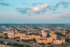 Block houses   Kaunas aerial